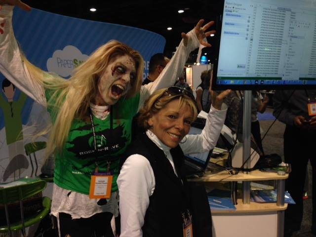 Lookout Lu Ann! Who would have thought that Convergence would have zombies!